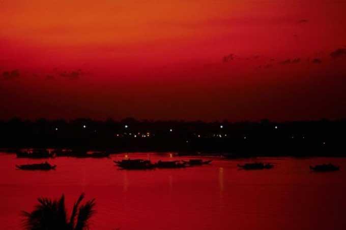 Le rouge at anges for Que represente la couleur rouge